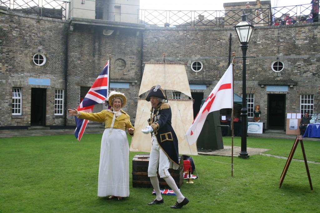 Inner State Theatre Company - Re-enactment of Trafalgar