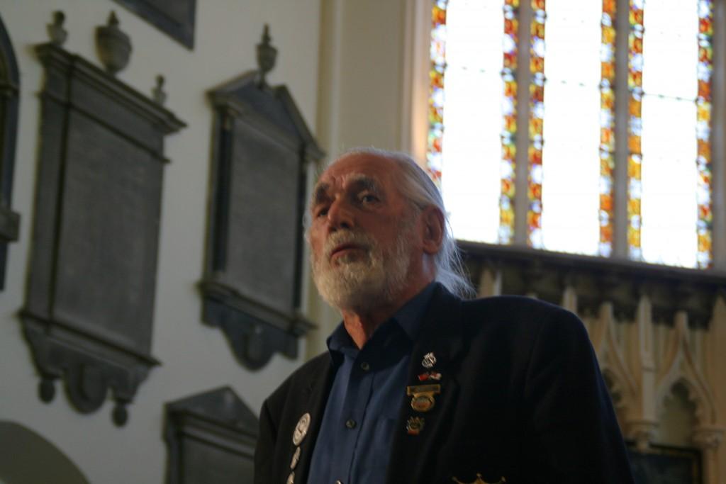 Jim Radford in St Nicholas