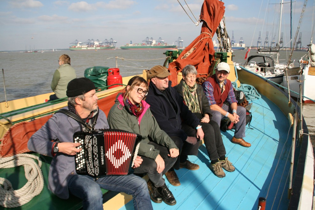 London Lubbers on Victor - Thames Sailing Barge