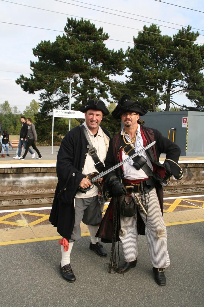 Pirates at Mannintree