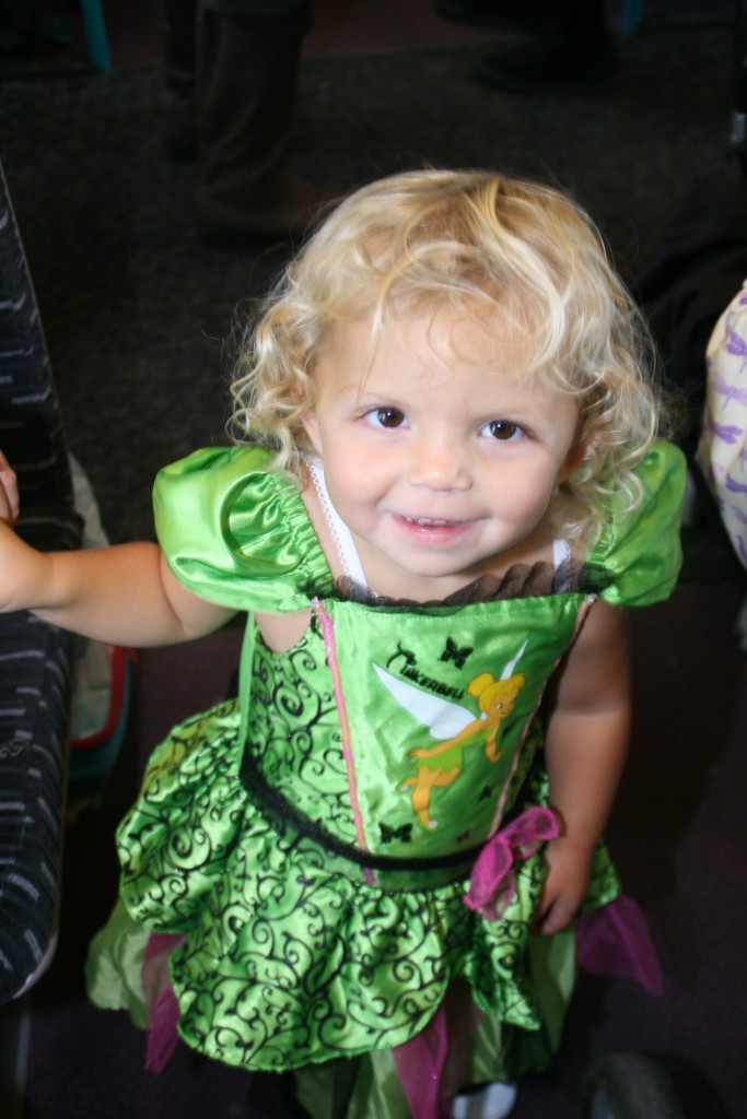 Princess on Shanty Train waiting to be rescued
