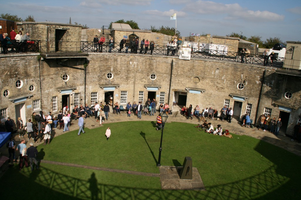 The Redoubt Fort on Sunday morning