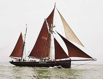 Excelsior Thames Barge