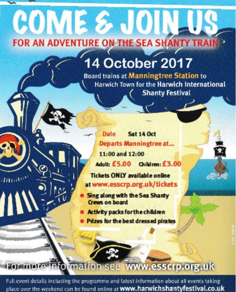 Shanty Train Poster