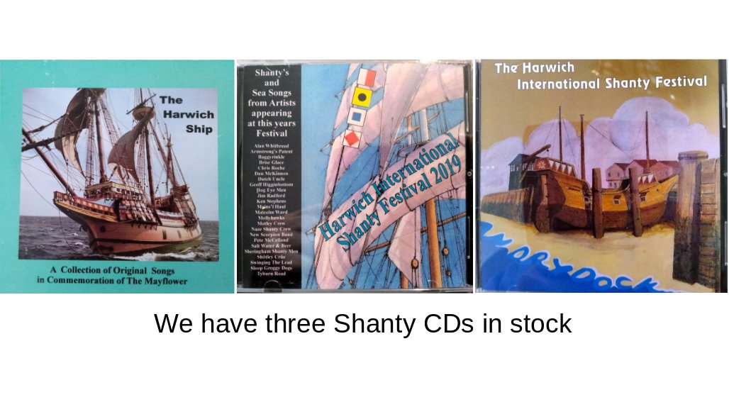 Three CDs in stock!