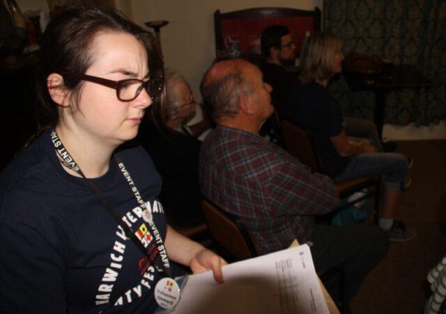 Zoe - Stewarding an event